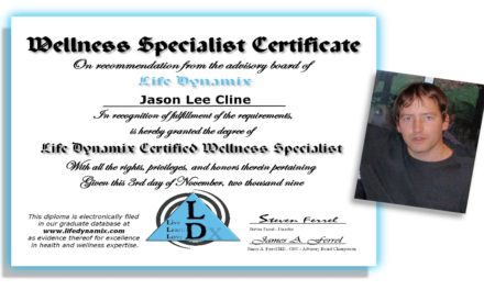 Jason Cline – Certified Wellness Specialist