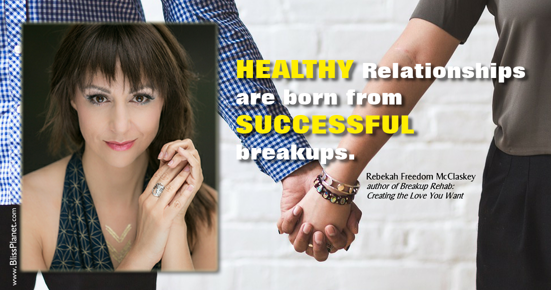 A Talk with Rebekah Freedom, author of BREAKUP REHAB - Bliss Planet