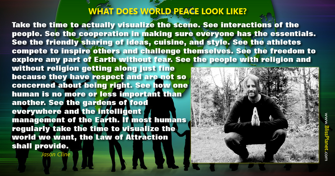 What does world peace look like?