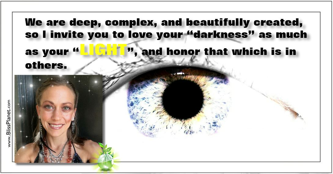 love your darkness as much as your light